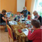 Dýchánek pro seniory - tvoření - Malování na kameny